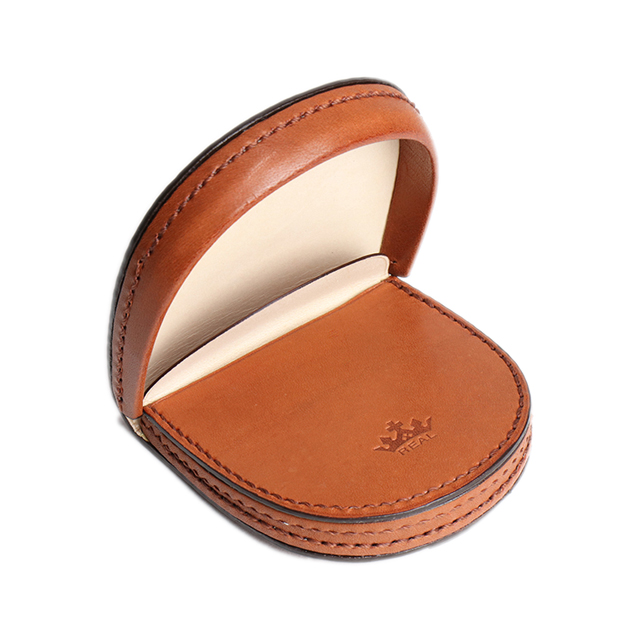 オリジナル馬蹄型コインケース ブラウン